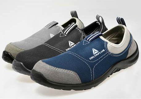 代尔塔301215 301216松紧系列安全鞋